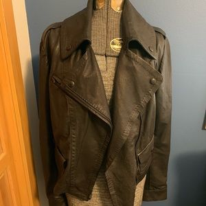 Italian Leather Moto Jacket